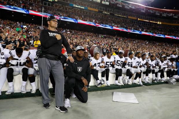 Raiders Redskins Football